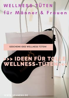 Wellness in the bag // Wellness bag also a DIY gift idea Home Spa, Woodland Party, Eat Cake, Gift Bags, Diy And Crafts, Presents, Gifts, Happy Mail, Travel News