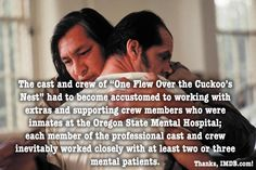 Many extras in One Flew Over the Cuckoo's Nest were authentic mental patients. #movie #fact #movietrends