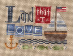 Patriotic cross stitch