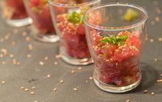 10 appetizers salados para servir en vasitos de vidrio 0