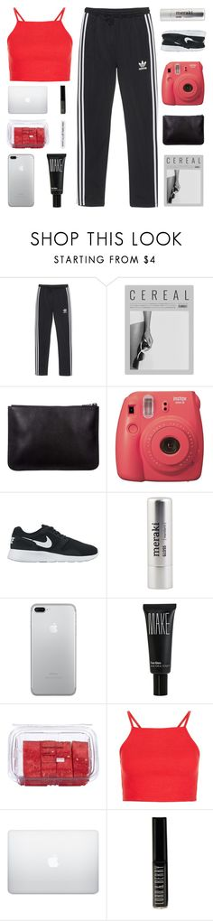 """DON'T LIKE YOUR PERFECT CRIME"" by constellation-s ❤ liked on Polyvore featuring adidas Originals, Fujifilm, NIKE, Meraki, Make, Lindt and Lord & Berry"