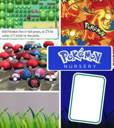 Training to be the very best, like no one ever was, starts at birth. Here's some awesome ideas for a Pokemon-themed nursery.