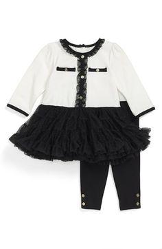 Little Me Dress & Leggings (Baby Girls) (Online Only) available at #Nordstrom