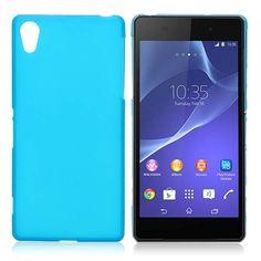 Lichtblauw TPU hoesje voor Sony Xperia Z2