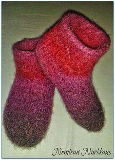 Felted slippers - Joki