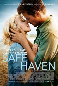 """The film adaptation of """"Safe Haven,"""" a Nicholas Sparks novel, was filmed in Southport and is set to release in February It stars Julianne Hough and Josh Duhamel. So excited for another Nicholas sparks book to become a movie! Safe Haven Book, Safe Haven 2013, Book Safe, Safe Haven Film, Veilige Haven, See Movie, Movie Tv, Crazy Movie, Film Romance"""