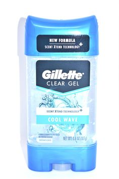 Gillette Clear Gel Cool Wave Anti-Perspirant Deodorant 3.8 oz. – MarketCOL