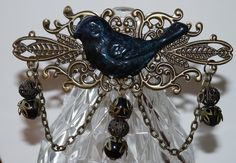 Blue Bird Brooch On Bronze £6.00