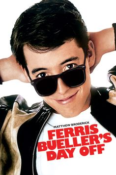 """Ferris Bueller's Day Off"" Matthew Broderick charms in Ferris Bueller's Day Off, a light and irrepressibly fun movie about being young and having fun."