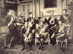 Kings in Windsor Castle (May 20th, 1910)