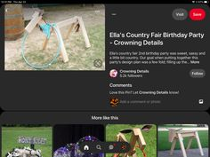 Emma Love, Country Fair, 2nd Birthday Parties, How To Plan, Party, Parties