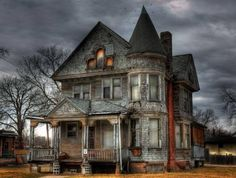 Old spooky house