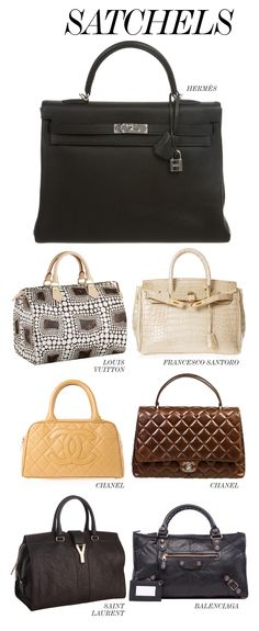 THE BEST OF THE BAGS // SATCHELS