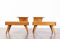 Heywood Wakefield Side Tables