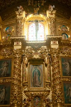 The Santo Domingo Cathedral in Oaxaca, Mexico. So ethereal!