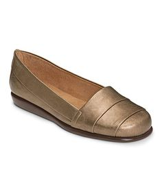 Bronze Softball Flat #zulily #zulilyfinds
