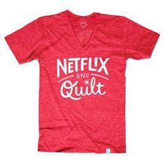 Netflix and Quilt T-shirt - Pre-order