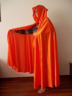 Como hacer una capa y una capucha
