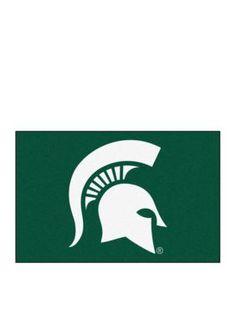 Fanmats  Ncaa Michigan State University Starter Mat - Green - One Size