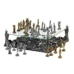 Warrior Chess Set - AC Treasures | Scott's Marketplace--20% off your entire order with code: Winter20
