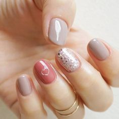 cute <3 Nude nails