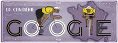 Tomorrow, June 29th, 2013, will kick off the 100th Tour de France.  To celebrate the special milestone, Google has a tasteful animated GIF Google Doodle for the Tour de France.    The 2013 Tour de France will start tomorrow, June 29th and run through July 21st...