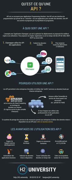 Infographie : Qu'est ce qu'une API ? | Le Blog H2 University