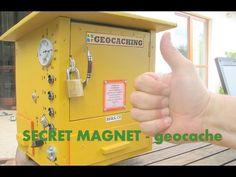 Geocache creative - secret magnet