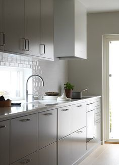 Interior Design Kitchen, Home Kitchens, Kitchen Remodel, Kitchen Cabinets, House Design, Home Decor, Design Ideas, New Kitchen, Decoration Home