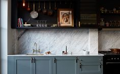 Luxury Kitchen Designed by Buster and Punch photographed by Interiors and…