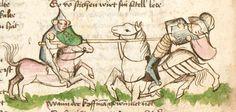 Thomasin : Der welsche Gast Schwaben, 3. Viertel 15. Jh. Cgm 571  Folio 57