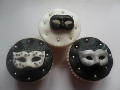 Masked cupcakes by lizzies_cakes lizzies cupcakes lizziescakeshop, via Flickr