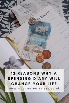My number 1 tip for managing your money is always: keep a spending diary! So if you're keen to have a low spend January, check out this post. Budget App, Weekly Budget, Budgeting Tools, Budgeting Finances, Living On A Budget, Frugal Living, Savings Box, Managing Your Money, Money Management
