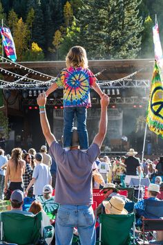 Telluride Bluegrass Festival vibes