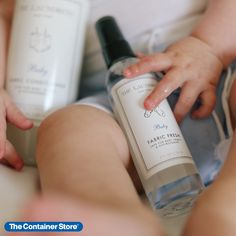 Give tiny clothing a fragrant new note between washes with this convenient spray from The Laundress. The calming, sweet scent renews and deodorizes fabrics, all in a nontoxic, antibacterial formula. Simply spray to refresh little wardrobes, bedding, car seats, diaper bags, strollers and toys. Because it's from The Laundress, you can feel safe knowing that you're doing the best for you and your family.