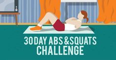 30 Day Abs and Squats Challenge   Fitness Republic