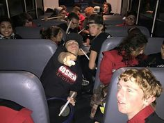 Percussion bus silliness