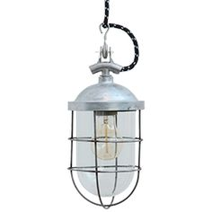 mining lamp - not laquered