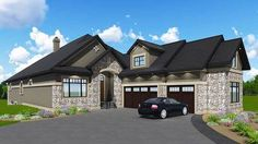 Plan 81662AB: Second Floor In-Law Suite