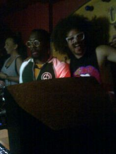 will.i.am and LMFAO at Cirque!