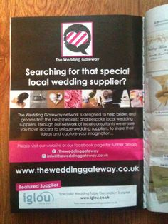 Our advert in July edition of Wedding Ideas Magazine . our first national advert (and we were very happy as the business only went live April 2013 :) Ideas Magazine, Unique Weddings, This Is Us, Groom, Wedding Ideas, Bride, Business, Happy, Wedding Bride