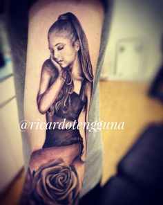 They say every TATTOO has a STORY, well she's my EVERYTHING ☁️