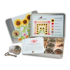 Secret Garden: Kids Flower Garden Kit. Everything needed to help your child grow an enchanted garden of colorful annuals. $24.95