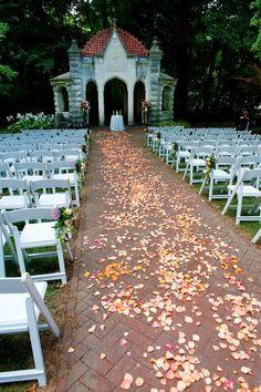 Rose Well House wedding