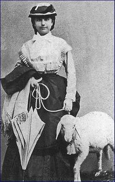 "Ida Ferenczy, Lady in waiting of Empress Elizabeth ""Sisi""."