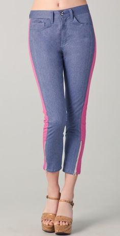 Washborn Colorblock Boyfriend Jeans, $38.50 at Shopbob