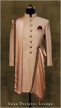 Best Indian Wedding Suits For Men Grooms 45 Ideas Indian Wedding Suits Men, Sherwani For Men Wedding, Mens Indian Wear, Mens Ethnic Wear, Sherwani Groom, Indian Men Fashion, Indian Wedding Outfits, Mens Sherwani, Mens Fashion
