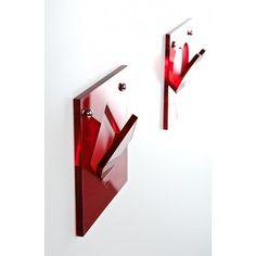 Appendiabiti da muro design in plexiglass - Appendipoker Prezzo 25€ - #designtrasparente #design #plexiglass #shopping #online #acrylic