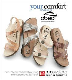 Have to start wearing better made shoes for my knees and back. Cork Sandals, Women's Shoes Sandals, Walking Company, Sensible Shoes, Most Comfortable Shoes, How To Make Shoes, Womens Slippers, Me Too Shoes, Casual Shoes
