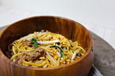 Stir Fried Noodles with Beef and Savoury Sauce